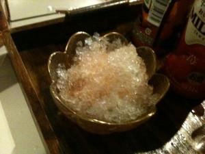 夏なのでかき氷を用意