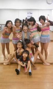YOSHIKO's actor kids dance team